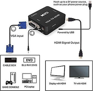 VGA TO HDMI CONNECTOR