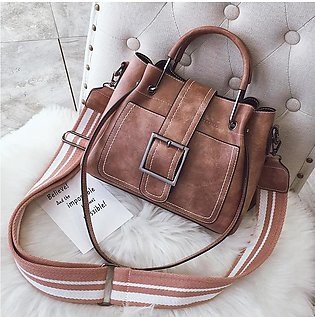 Korean Pu Leather Retro Girl Popular Soft Noodle Handbag Fashion Popular Small …