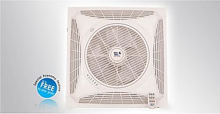 Pak Fans - False Ceiling Fan - 16 Inches 2X2 - With Remote - Pure Copper