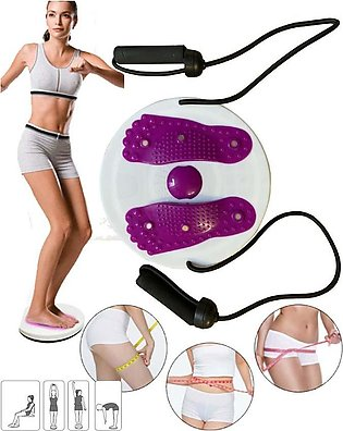 Twisting Waist Disc, Sports Equipment Aerobic Exercise Foot Massage with Pull R…