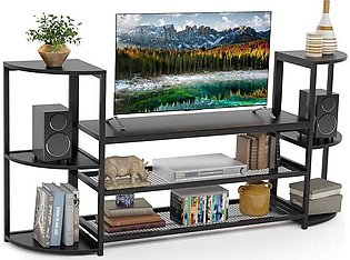 Large TV Entertainment Centers TV Stand with Storage for Flat Screen TVs up to …