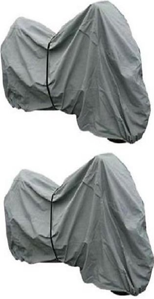 Pack of 2 - Motorcycle Bike Cover