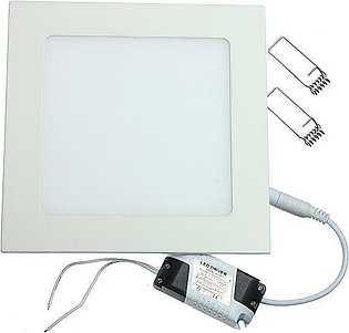 Dimmable 12W Square Ultra Thin Ceiling Energy-Saving LED Panel Light (Cool Whit…