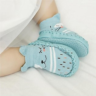 Free Spirit Baby Toddler Anti-slip Floor Socks Cotton Socks Shoes Walk Learning…