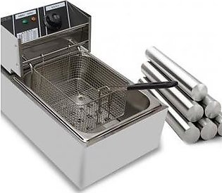 Commercial Electric Deep Fryer of 6L Tank Capacity