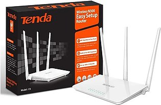 Wifi Tenda Router Tripple Antena F3
