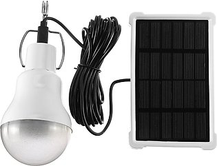 20W Solar Panel Power LED Bulb Light Portable Outdoor Camping Tent Energy Lamp S