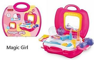 Kids Toy Box Suitcase Magic Girl Role Play Simulation Game
