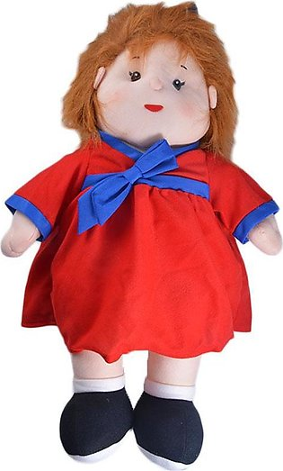 Thick and Good Quality Soft Stuffed Toy For Kids - Cute Girl With Cute Hairs - …
