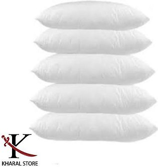 Best Quality White Pillow (Pack of 5) filled with Ball Fiber Polyester