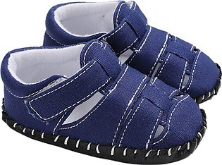 summer canvas Toddler Newborn Baby Shoes Non-slip Bottom Soled Shoes