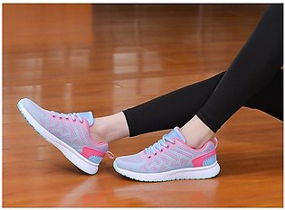 Shoes For Women Breathable Women Sport Running Shoes Rubber Shoes For Women Ath…