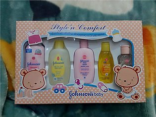 Pack Of 5 Born Babies Gift Set Set For New Born Babies baby lotion,powder,baby …