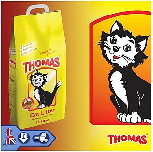 THOMAS CAT LITTER 16 LITTER For Cat, Pet Litter