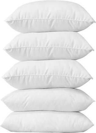 Pack Of 5 - Siliconized Ball Fiber Pillow