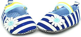 Striped Small Daisies Female Baby Soft Bottom Baby Toddler Shoes Baby Shoes