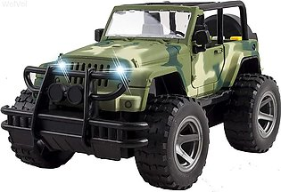 1:16 Off-Road Toy Car Friction Powered Model Vehicle with Fun Lights & Music To…