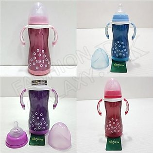 Stainless Steel Baby Feeder Bottle-( 270 ML )