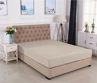Jersey Fitted bed Sheet - Double Size Bed