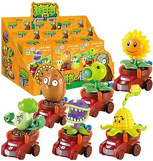 Plants vs. Zombies Toy Pull Back  Can Launch Bullet Full Set Game Doll Children…