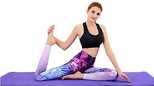 Yoga mat, Fitness mats Exercise mat Thickened Male and Female Family Pilates Be…