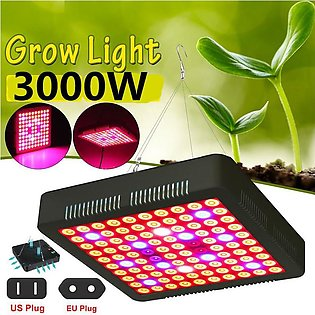 2000W/3000W 100 LED Grow Light Full Spectrum Panel Growth Hydroponic Vegetables…
