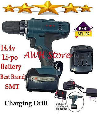 Charging Drill Machine 14.4 volt Smt Brand Wireless Cordless Rechargeable Drill…