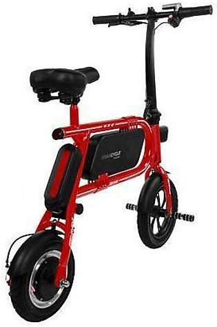 Swagtron Electric Swag Cycle Red Color