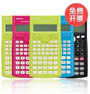 Delii Scientific Calculator 12 Digit 240 Function 1710 - Pink Original