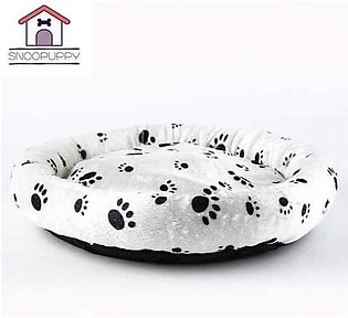 Cat and puppy Bed ( M size ) indoor Printed Bed