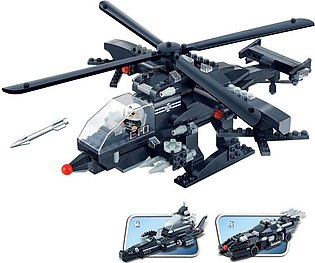 BanBao Military Building Blocks Toys Kids Gifts Army Cars Helicopter Ship 3 in …