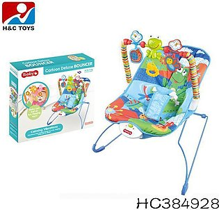 ibaby Cartoon Deluxe Baby Bouncer Musical Children Toy Electric Rocking Chair