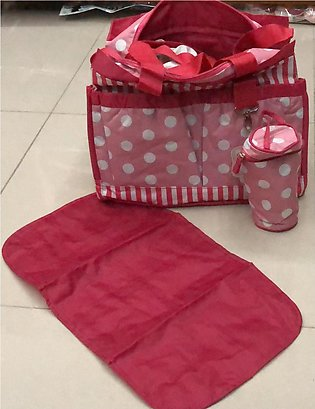 baby bag with wrapping sheet and feeder cover imported