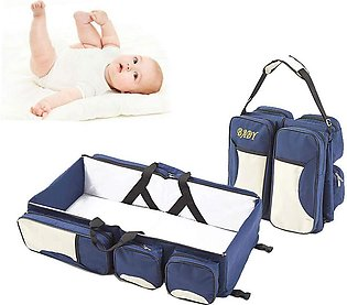 2 in 1 Multi functional Travelling Baby cot Bag
