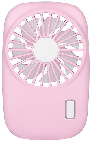 TE Portable Mini Hand Held USB Fan Rechargeable Air Conditioner Cooling