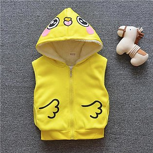 2019 Kid Infant Cartoon Jackets Baby Toddler Warm Veat Waistcoat Clothes Hoodie…