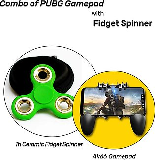Combo of Gamepad with Fidget Spinner