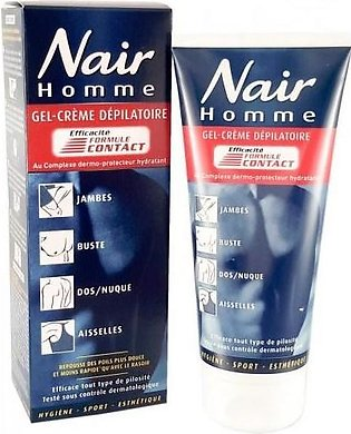 Nair Hommes Men Hair Removal Cream Made in France 200ml