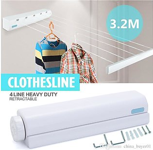 High Quality Retractable Automatic Cloth Drying Line, Automatic Retractable Clo…