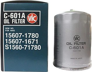 VIC Oil filter C-601A for Toyota Coaster, Toyo Ace Truck, Hino Ranger, Bus, sel…