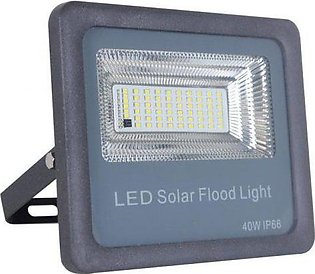 40W Solar Flood Light - Ultronics Light Outdoor Street Light Pole Light LED Sol…