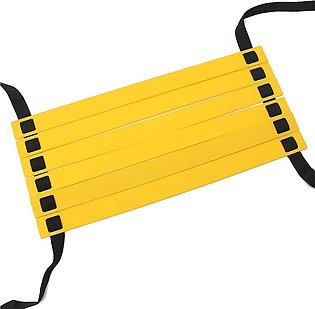 Camtoa Durable 6-rung Agility Speed Ladder For Soccer Football Training With Ca…