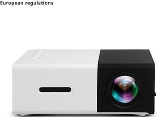 YG300 Mini Projector Household Full High Definition LED Beamer Projector