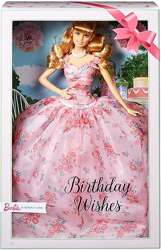 Barbie Birthday Wishes Doll Blonde Multicolor Age 6-10 years Item Size 32 x 15 …