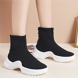 Fashion Women Mesh Casual Slip-On Sport Shoes Runing Breathable Shoes Sneakers