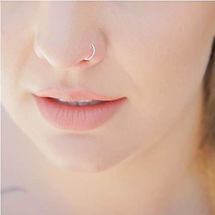 Buy 1 get 2 free best  quality silver nose ring for women