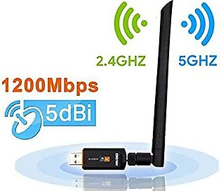 600mbps Wireless USB WiFi Network Adapter Antenna Receiver for PC or Laptop