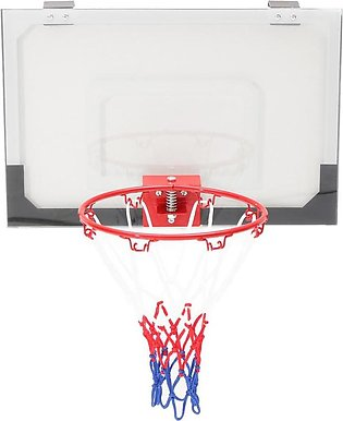 The old tree  Portable Mini Hoop Backboard Net Pump Set w/ Basketball Indoor Ou…