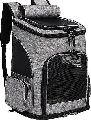 Pet Carrier Backpack for Cats,Dog Carrier Bag with Ventilated Mesh, Comfort Por…
