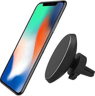 Measy Magnetic QI Wireless Car Charger Mount for IPHONE X/8/8 Plus, Samsung Gal…